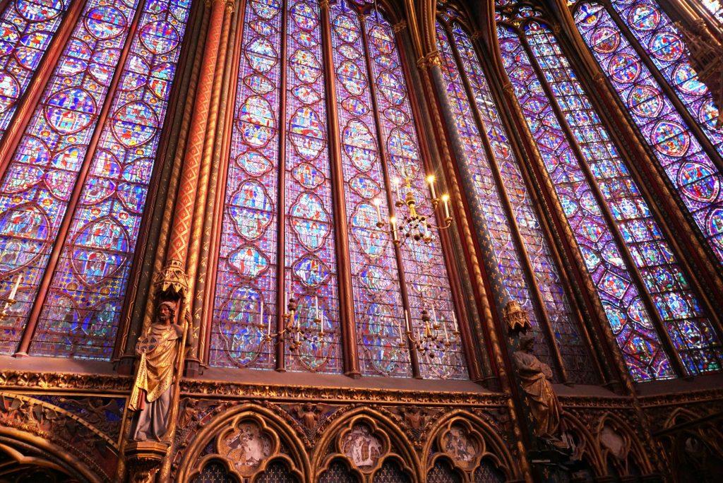 Sneak-peek into 12 century Gem of Sainte -Chapelle 1