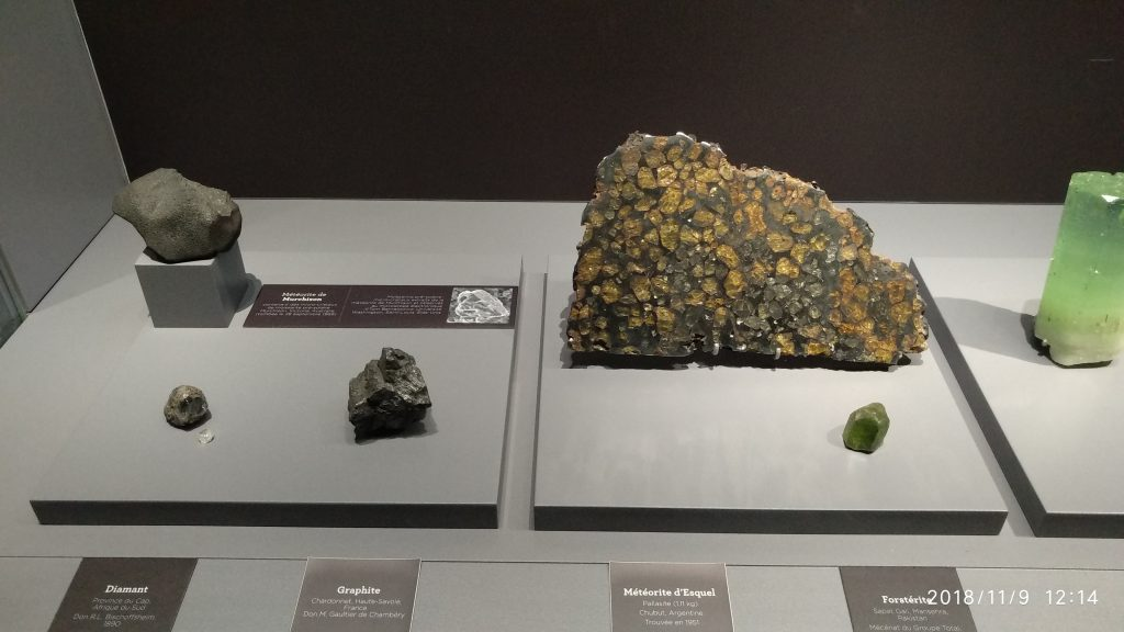 Minerals and Meteorites :connatural to cosmos 4