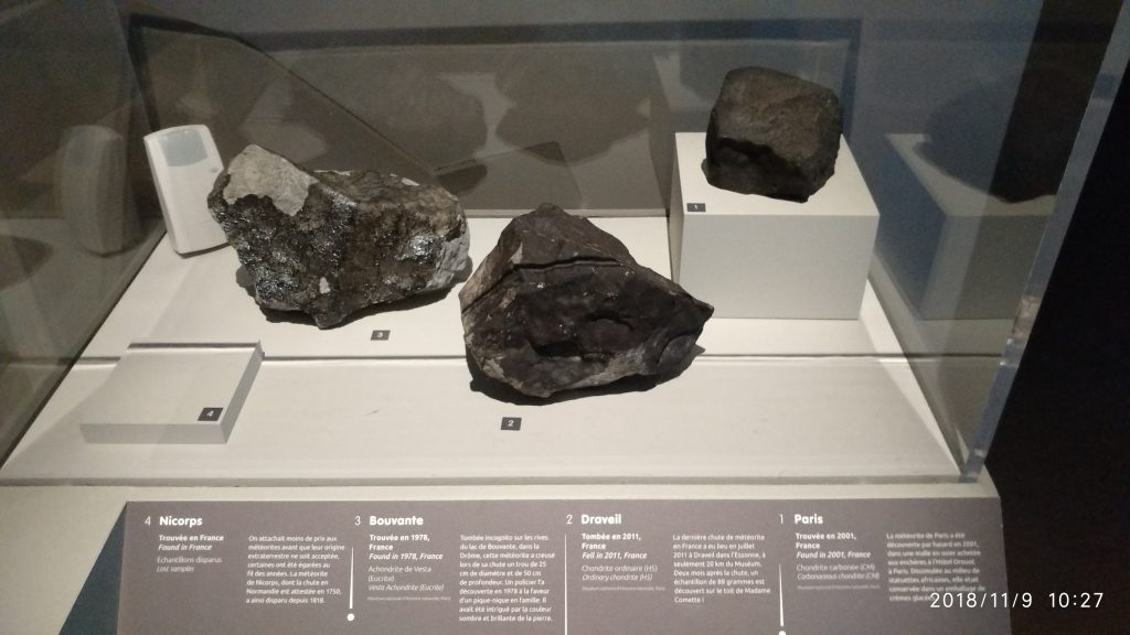 Minerals and Meteorites :connatural to cosmos 9
