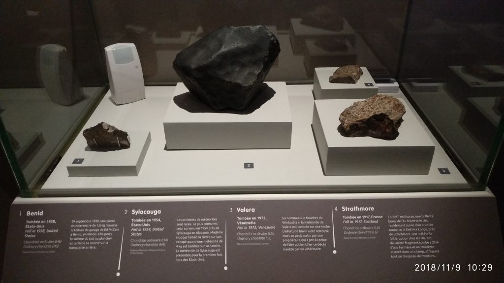 Minerals and Meteorites :connatural to cosmos 10