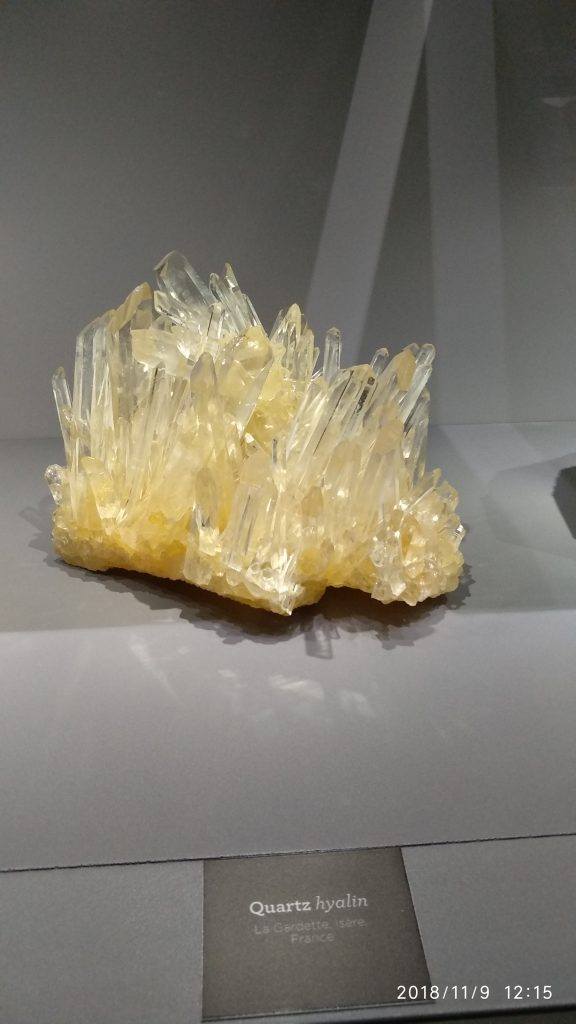 Minerals and Meteorites :connatural to cosmos 3