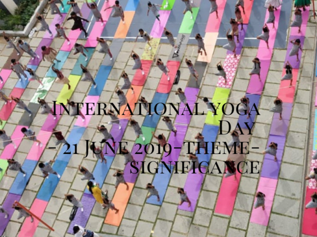 Profound International Yoga Day (21 June)-Theme-Significance 6