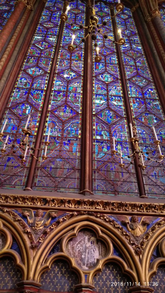 Sneak-peek into 12 century Gem of Sainte -Chapelle 1