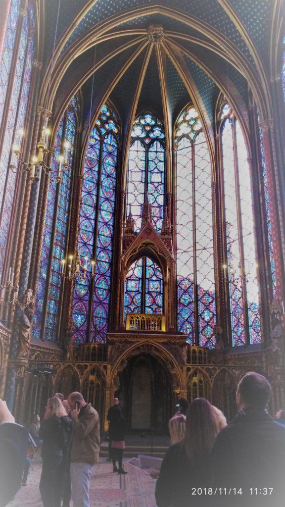 Sneak-peek into 12 century Gem of Sainte -Chapelle 2