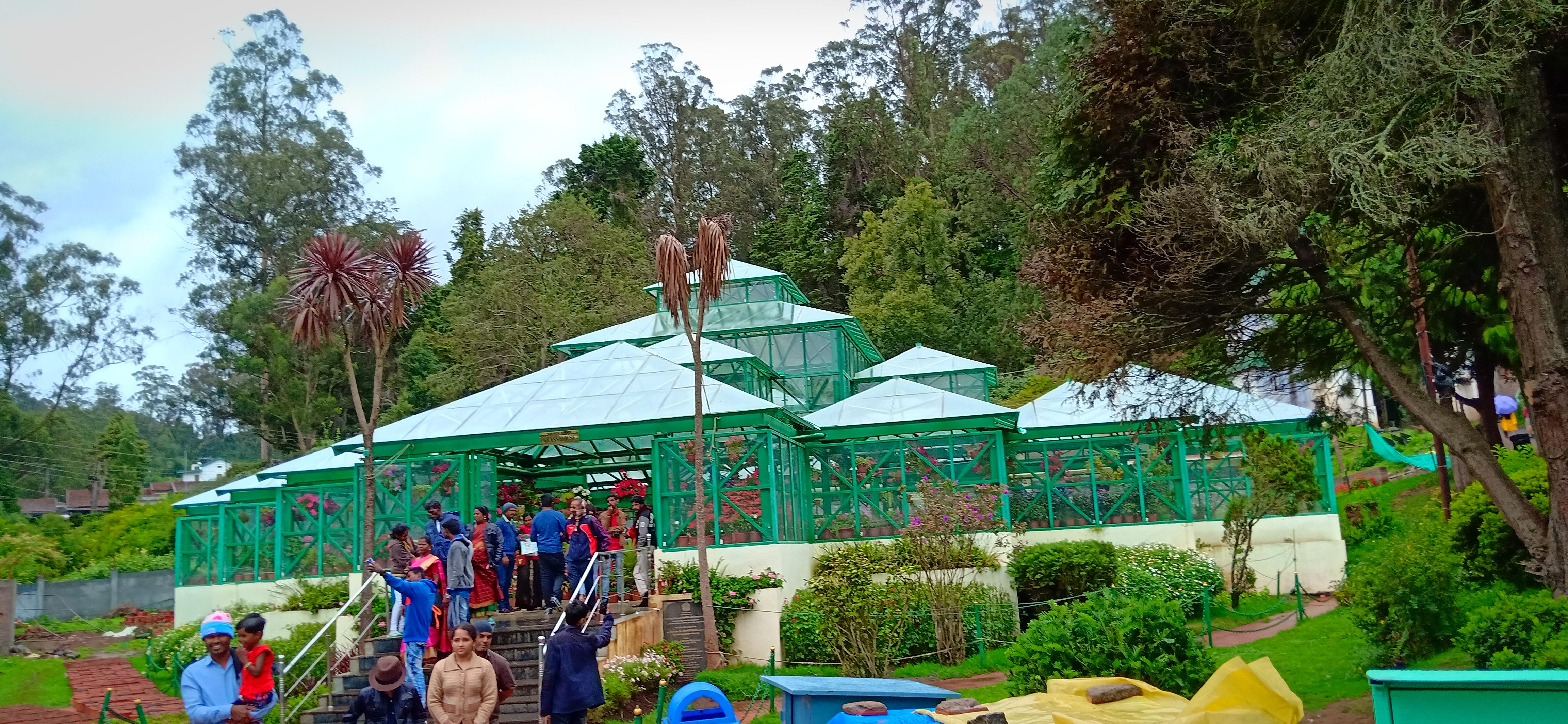 sachetwalker ooty botanical garden