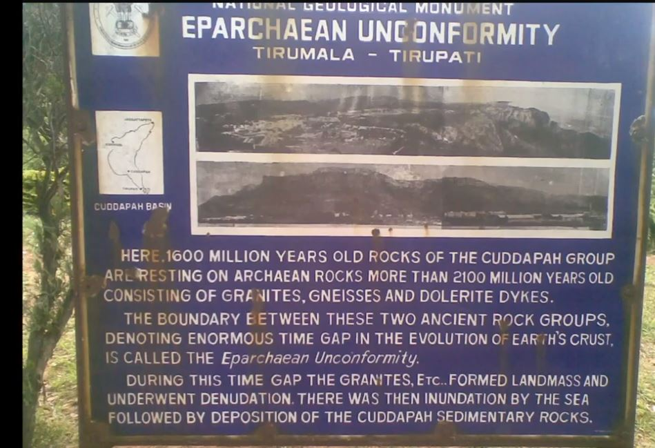Astonishing Eparchaen Unconformity- 1600  Million Old Rowdy 2
